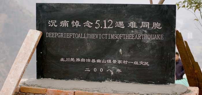 Beichuan, la ciudad fantasma devastada por un terremoto. ¿La visitarías?