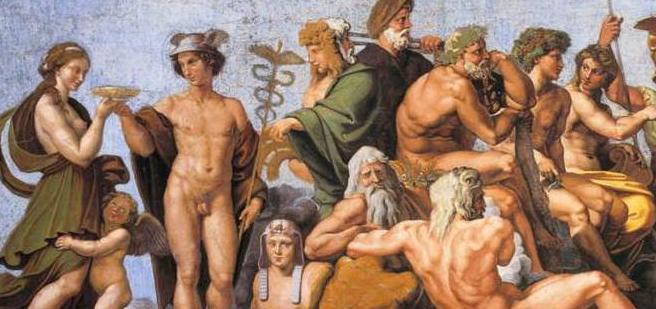 Dioses griegos y romanos