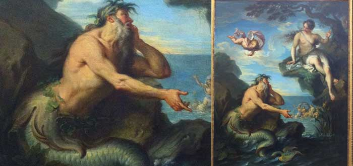 La leyenda mitológica de Glauco, el pescador que se convirtió en Tritón