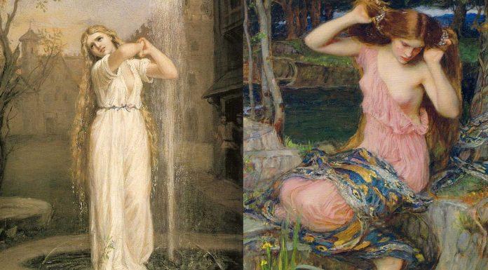 Las Ondinas, los seres elementales relacionados con el agua