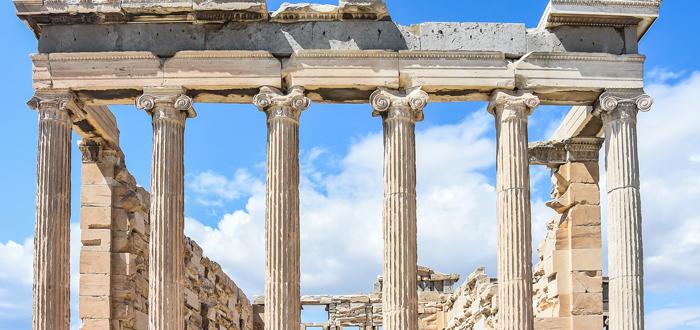 Acrópolis griega