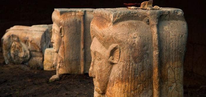 Hathor, diosa del amor egipcio, escultura