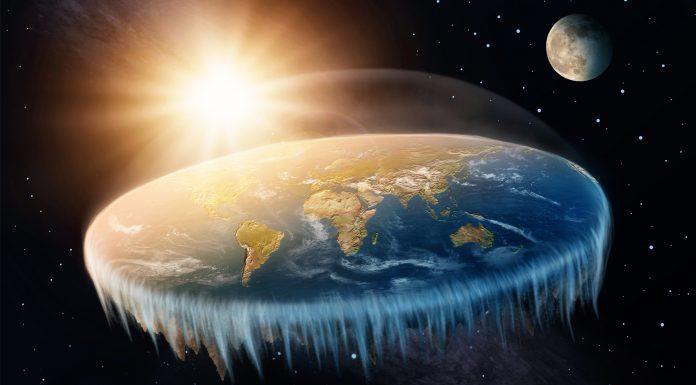 Tierra fuera plana