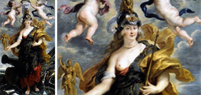 Belona, diosa romana de la guerra