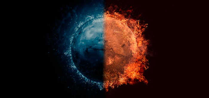 curiosidades del Sistema Solar, Marte, agua