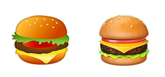 emojis polémicos, emoji hamburguesa