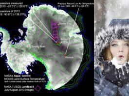 El lugar más frío del mundo | Llega a temperaturas de -92 ºC