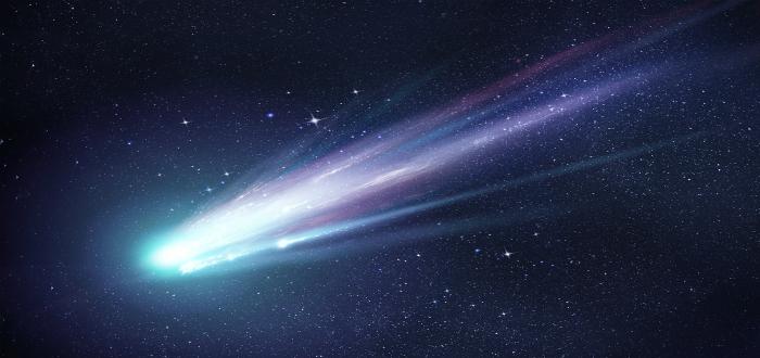 curiosidades del sistema solar, cometa