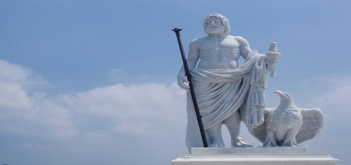 nombres de dioses romanos, júpiter
