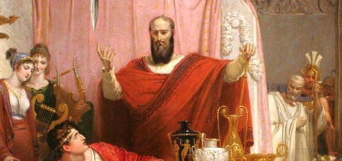 historia de la espada de Damocles