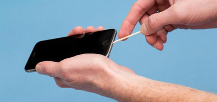 Limpiar el teléfono