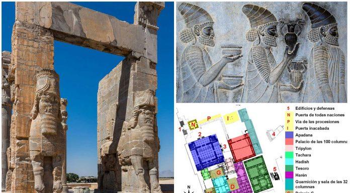 Persépolis | 10 Curiosidades de la ciudad que destruyó Alejandro Magno