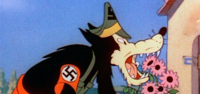 Propaganda Disney, anti nazi, los tres cerditos
