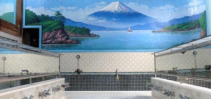 Baño japonés sento
