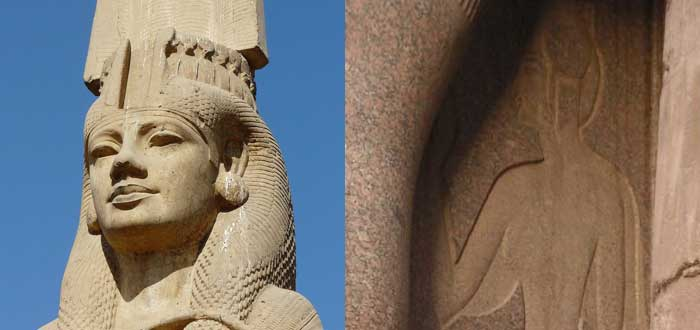Incesto entre los faraones egipcios: Amenofis III, Akenaton y Ramses II