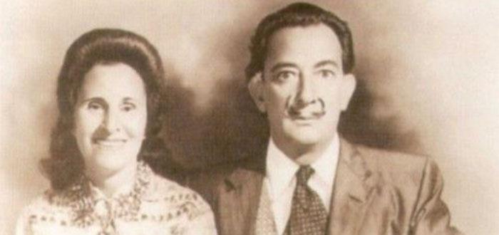 Salvador Dalí y Gala