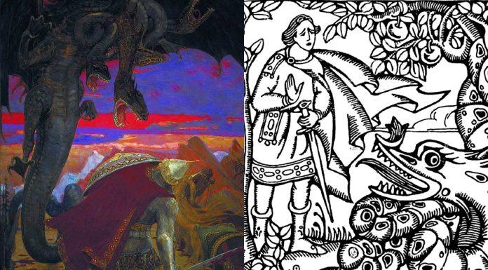 El Zmeu, el curioso dragón antropomórfico de la mitología rumana