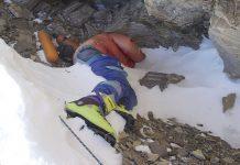 Botas verdes, la macabra historia del cadáver de un escalador del Everest