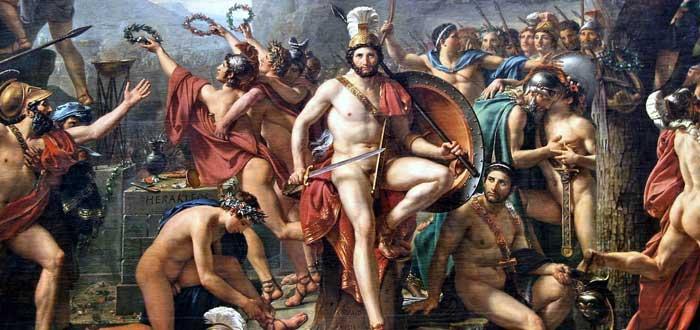 frases atribuidas a los Espartanos y Leónidas en las Termópilas, sociedad espartana