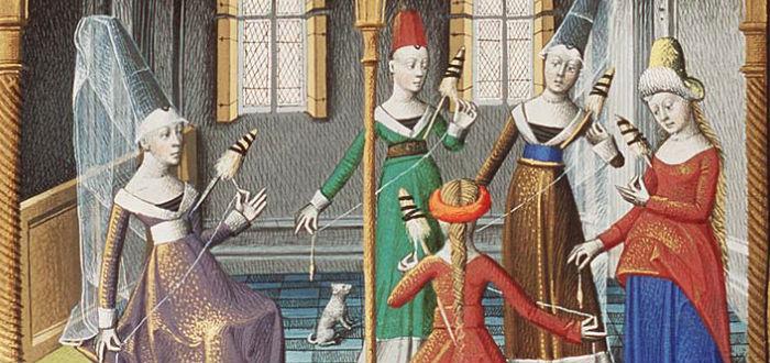 historia de la comsetología, Edad Media