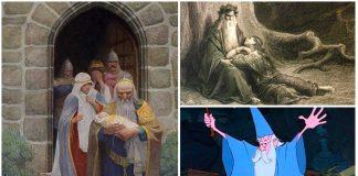 """La historia del mago Merlín, el que """"conocía la esencia de todas las cosas"""""""