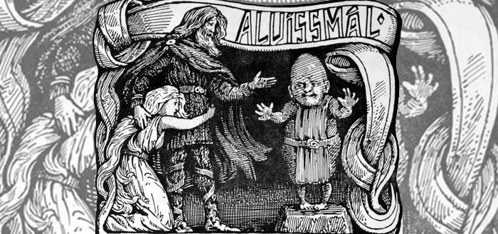 historias de Thor, Alvíssmal, Thor y su hija