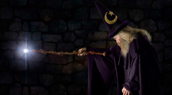 la historia del mago merlin