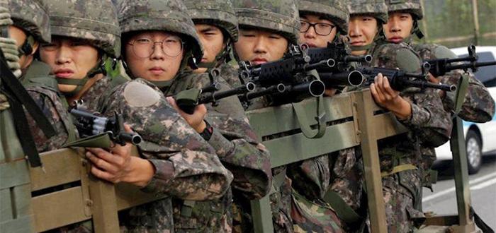 servicio militar de Corea del Sur