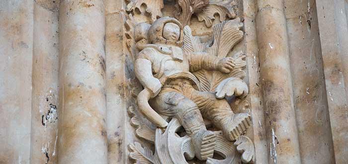 Curiosidades de España, astronauta salamanca