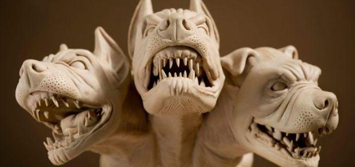 El perro de tres cabezas que resguardaba el inframundo