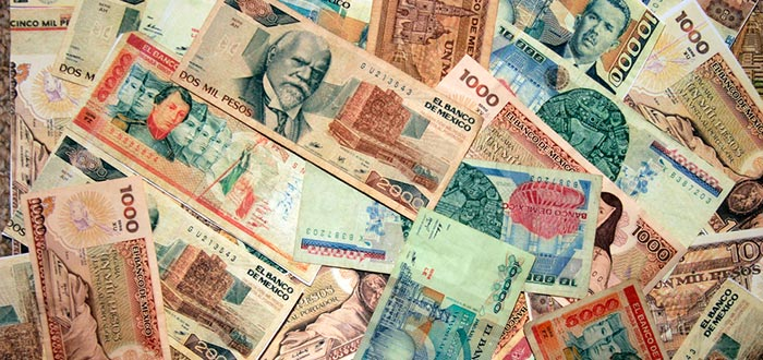 Datos Curiosos de México, billetes de pesos mexicanos