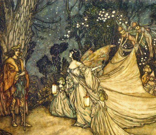 rey de las hadas en la mitología celta