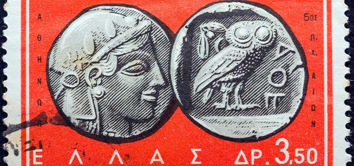 datos curiosos de grecia el dracma