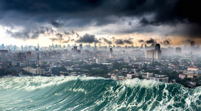 causa del peor tsunami