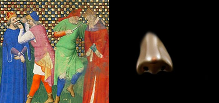 cultura bizantina, Justiniano II, nariz