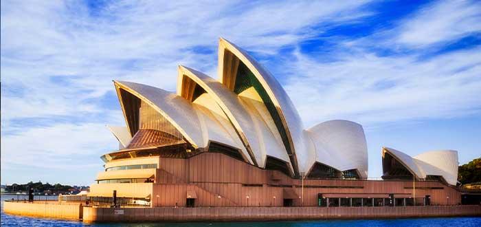 datos curiosos de Australia la casa de la opera sydney