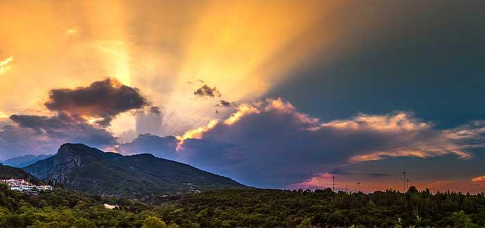 el monte olimpo en grecia