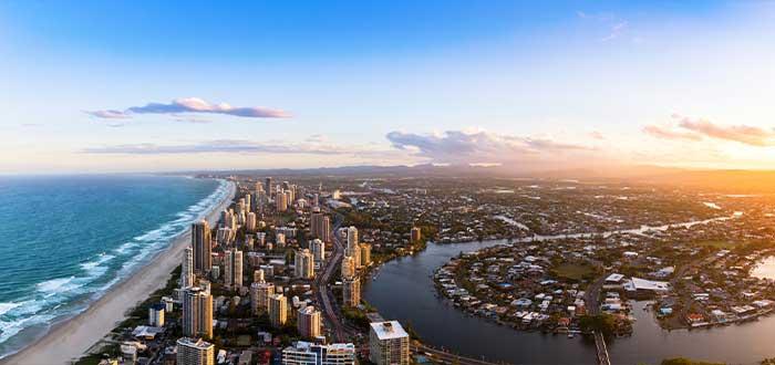gold coast en Australia datos curiosos