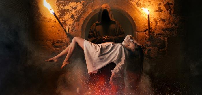 Heptameron, ritual con doncella