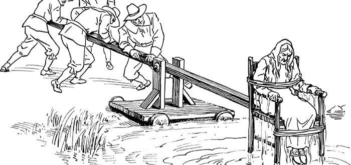 5 Pruebas terribles que hacían en los Juicios a brujas en Europa, Inmersión