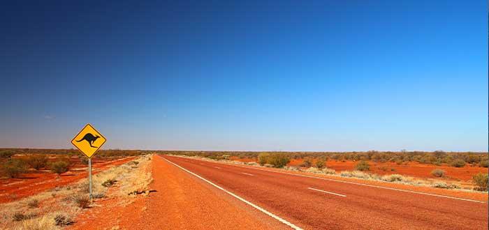 los desiertos de australia