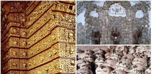 5 Construcciones hechas con huesos humanos   Impactantes