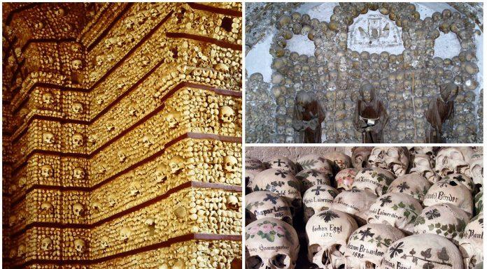 5 Construcciones hechas con huesos humanos | Impactantes