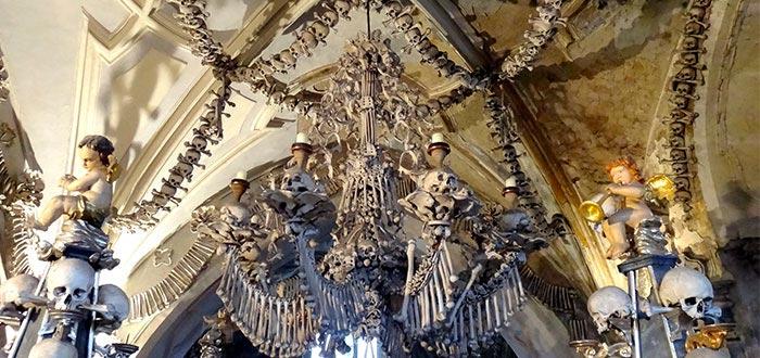 preservado restos humanos, Osario de Sedlec