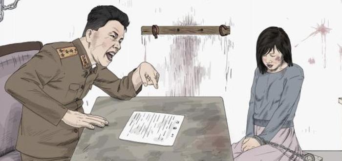 mujeres en Corea del Norte