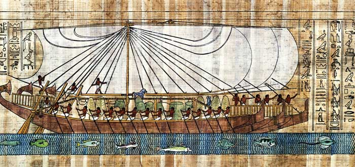 La historia de un Náufrago del Antiguo Egipto | La primera de la literatura
