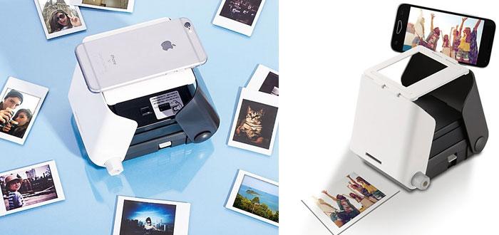 regalos muy curiosos, impresora de fotografías digitales