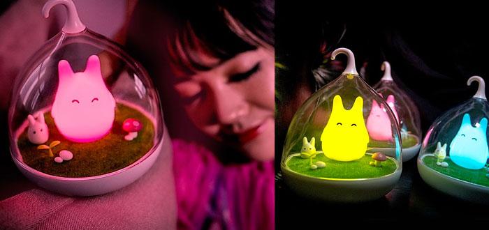 regalos muy curiosos, luz de noche Totoro
