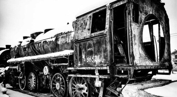 Cementerios de trenes