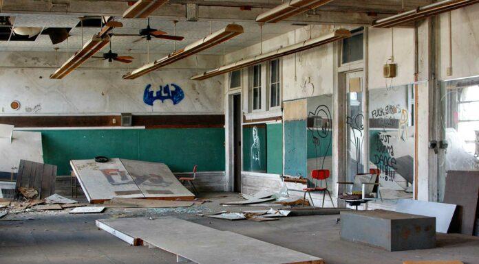 Escuelas abandonadas